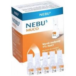 Nebu Muco 7% ampułki do inhalacji 30 amp.
