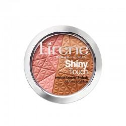 Lirene Shiny Touch Mineralny bronzer z różem modelujący owal twarzy 9g