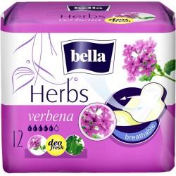 Bella Herbs podpaski wzbogacone werbeną 12 szt.