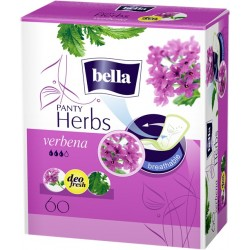 Bella Panty Herbs verbena wkładki higieniczne wzbogacone werbeną 60 szt.
