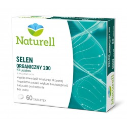Naturell Selen Organiczny 200 tabletki 60 tabl.
