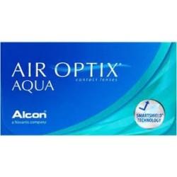Air Optix Aqua soczewki 30 dniowe dioptrie ujemne (-) 6szt.