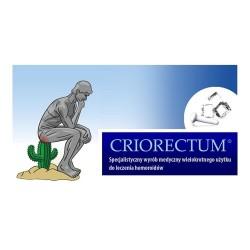 Criorectum sztyft krioterapeutyczny na hemoroidy 1szt.