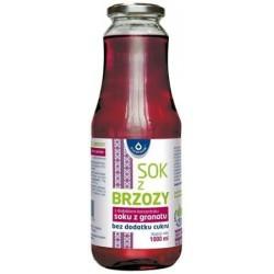Sok z brzozy z dodatkiem koncentratu soku z granatu 1000 ml