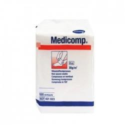 Medicomp Kompresy z włókniny niejałowe 10x10 cm 100szt.