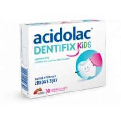 Acidolac Dentifix Kids tabletki do ssania 30 tabl.
