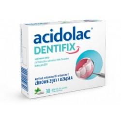 Acidolac Dentifix tabletki do ssania 30 tabl.