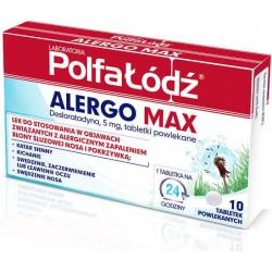 Alergo Max 5mg tabletki 10 tabl.