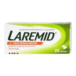 Laremid tabletki 20 tabl.