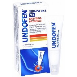 Undofen Terapia 3w1 żel przeciw grzybicy paznokci 7 ml