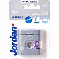 Jordan Whitening Nić do zębów z fluorem 25 m 1op.