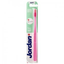 Jordan Clean Smile Soft miękka szczoteczka do zębów  1 szt