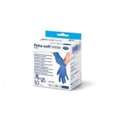 Hartmann Peha-soft nitrile fino S 5-6 diagnostyczne rękawice bezpudrowe i bezlateksowe 10 szt.