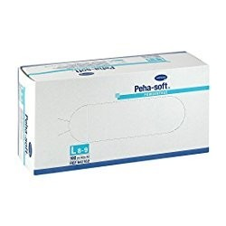 Hartmann Peha-soft L rękawice lateksowe, bezpudrowe, niesterylne 100 szt.