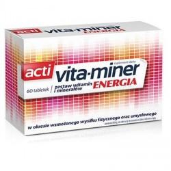 Vita-miner Energia tabletki 60 tabl.