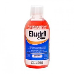 Eludril Care Anti-Plaque płyn do płukania jamy ustnej 500ml