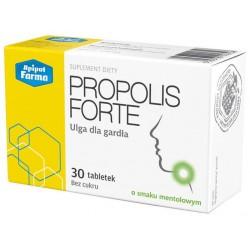 Propolis Forte tabletki do ssania o smaku mentolowym 30tabl.