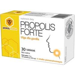 Propolis Forte tabletki do ssania o smaku pomarańczowym 30tabl.
