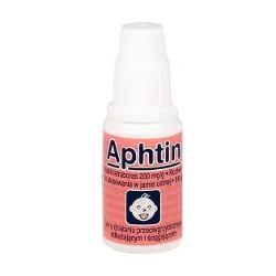 Aphtin roztwór do stosowania w jamie ustnej 10g
