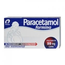 Paracetamol Farmina 50mg czopki 10szt.