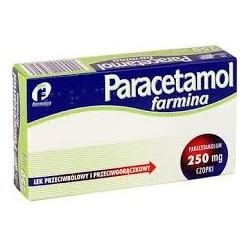 Paracetamol Farmina 250mg czopki 10szt.
