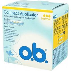 O.B. Tampony Compact Applicator Normal 16 szt.