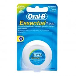 Oral-B Essential Floss nić dentystyczna miętowa woskowana 50m