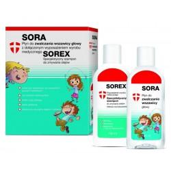 Sorex Zestaw Przeciw Wszawicy płyn 100 ml + szampon 100 ml 1 op.