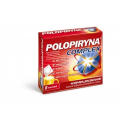Polopiryna Complex saszetki 8 sasz.