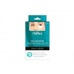 L'biotica Kolagenowe płatki pod oczy Redukcja cieni i obrzęków 3x2szt.
