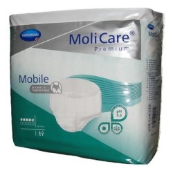 MoliCare Premium Mobile Majtki chłonne 5K średni stopień NTM L 14szt.
