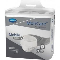 MoliCare Premium Mobile Majtki chłonne 10K najcięższy stopień NTM  L 14szt.