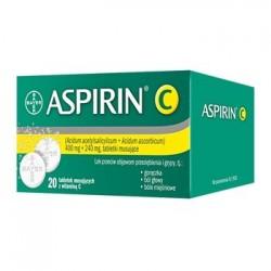 Aspirin C tabletki musujące 20 tabl.