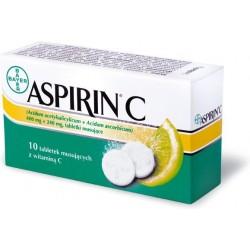 Aspirin C tabletki musujące 10 tabl.