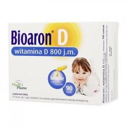 Bioaron D witamina D3 800 j.m. kapsułki twist-off 90 kaps.