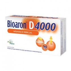 Bioaron D 4000 witamina D3 4000 j.m. kapsułki 90 kaps.