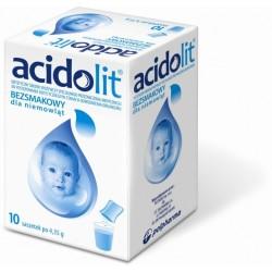 Acidolit bezsmakowy saszetki 10 sasz.