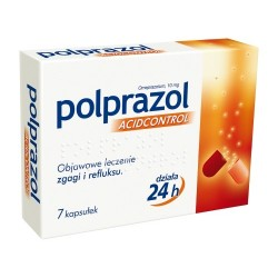 Polprazol Acidcontrol 10mg kapsułki 7 kaps.