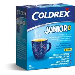 Coldrex Junior saszetki 10sasz.