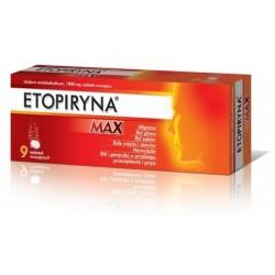 Etopiryna Max tabletki ropuszczalne 8 tabl.