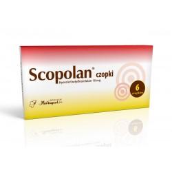 Scopolan  10mg czopki 6szt.