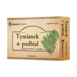 Tymianek i Podbiał tabletki do ssania 16 tabl.