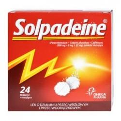 Solpadeine tabletki musujące 24 tabl.
