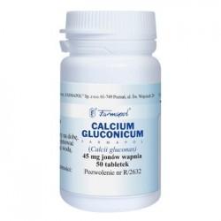 Calcium Gluconicum  tabletki 50tabl.