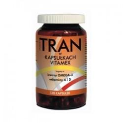 Tran Vitamex kapsułki 120kaps.