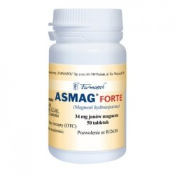 Asmag Forte tabletek 50tabl.