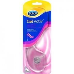 Scholl GelActiv wkładki do otwartego obuwia 1para