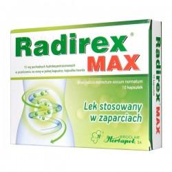 Radirex MAX kapsułki twarde 10kaps.