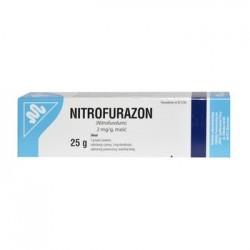 Nitrofurazon 2 mg/g maść 25g