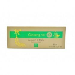 Ginseng 500 10 fiolek x 10 ml